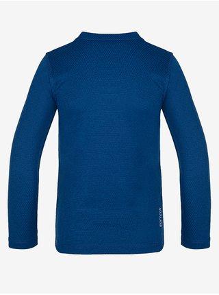 Tmavě modré dětské termo tričko LOAP Pillu