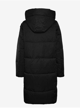 Černý prošívaný kabát VERO MODA Stella