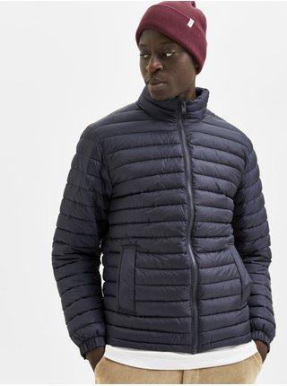Zimné bundy pre mužov Selected Homme - tmavomodrá