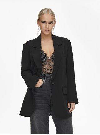 Černé dámské oversize sako ONLY Lana-Berry