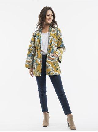 Móda pre plnoštíhle pre ženy Orientique - modrá, žltá
