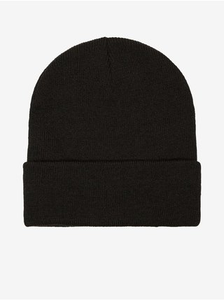 Černá dámská žebrovaná zimní čepice VERO MODA Maran
