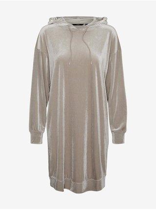 Šaty na denné nosenie pre ženy VERO MODA - svetlosivá