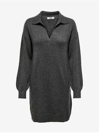 Šaty na denné nosenie pre ženy Jacqueline de Yong - tmavosivá
