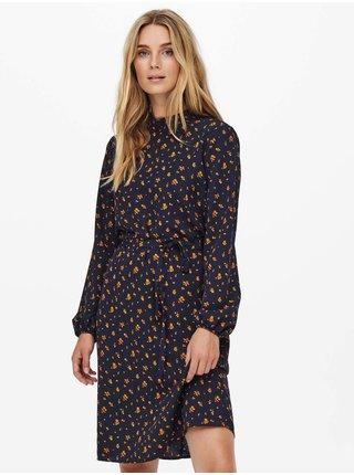 Voľnočasové šaty pre ženy Jacqueline de Yong - tmavomodrá