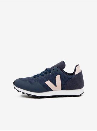 Růžovo-modré dámské boty Veja