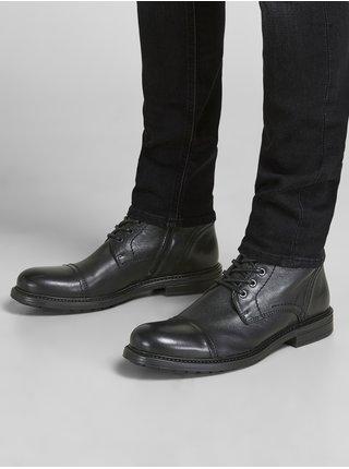Členkové pre mužov Jack & Jones - čierna