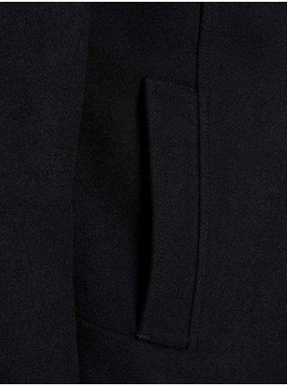 Černá bunda s příměsí vlny Jack & Jones Dunham