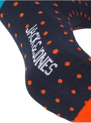 Sada pěti párů ponožek v tmavě modré a černé barvě Jack & Jones Jobbe