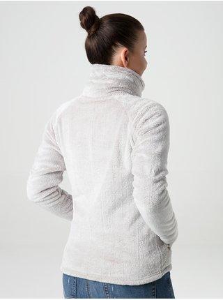 Svetlošedá dámska funkčná fleecová mikina LOAP Chada