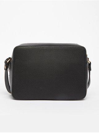 Černá dámská malá crossbody kabelka s přívěskem Liu Jo