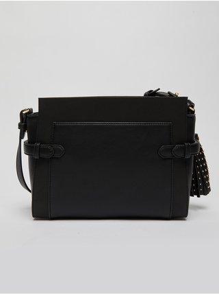 Černá dámská malá crossbody kabelka s ozdobnými detaily Liu Jo