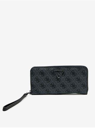 Čierna dámska vzorovaná peňaženka Guess