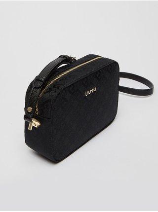 Černá dámská vzorovaná malá crossbody kabelka Liu Jo