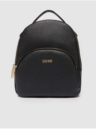 Černý dámský malý batoh Liu Jo