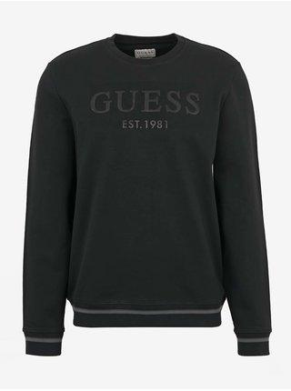 Černá pánská mikina Guess