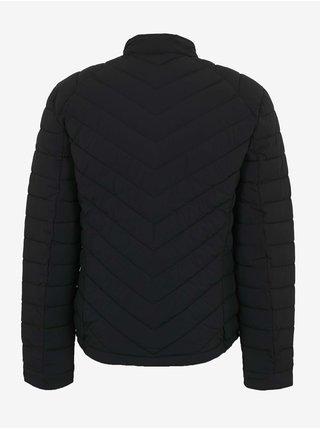 Černá pánská prošívaná bunda Guess