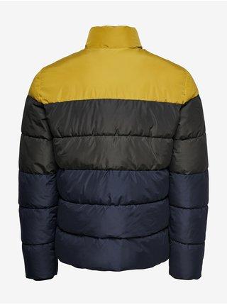 Zimné bundy pre mužov ONLY & SONS - tmavomodrá
