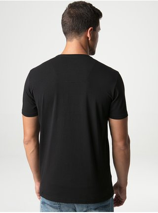 Černé pánské triko s potiskem LOAP Alia