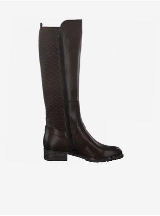 Zimná obuv pre ženy Tamaris - tmavohnedá