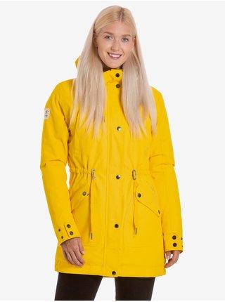 Žlutá dámská zimní parka Meatfly