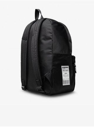 Černý pánský vzorovaný batoh Versace Jeans Couture