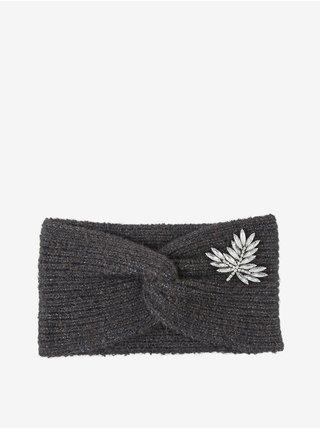 Čiapky, čelenky, klobúky pre ženy Pieces - tmavosivá