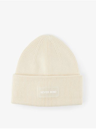 Čiapky, čelenky, klobúky pre ženy Pieces - krémová