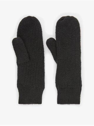 Černé rukavice Pieces Benilla