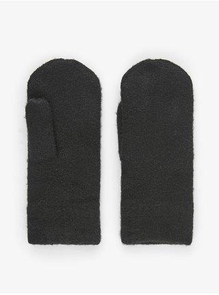 Rukavice pre ženy Pieces - čierna
