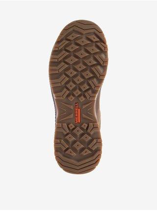 Hnědé pánské semišové boty Merrell Forestbound
