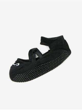 Černé dámské protiskluzové ponožky FILA