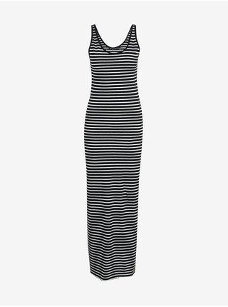 Bielo-čierne pruhované šaty Vero Moda