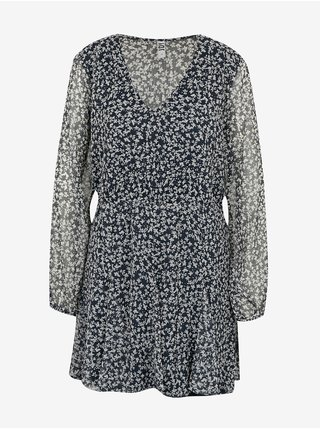 Čierne kvetované šaty Jacqueline de Yong Jennifer
