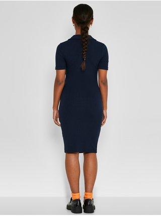 Tmavě modré šaty Noisy May Clara