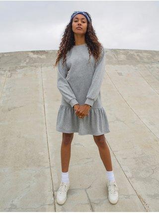 Dámske šaty na denné nosenie pre ženy Noisy May - sivá