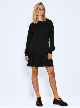 Dámske voľnočasové šaty pre ženy Noisy May - čierna