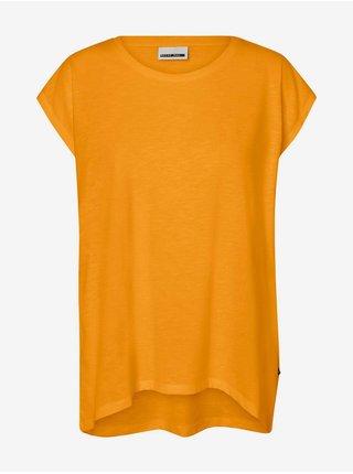 Topy a tričká pre ženy Noisy May - oranžová