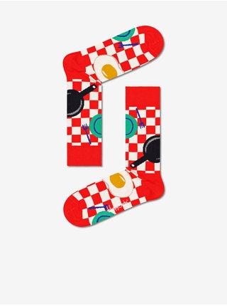 pre mužov Happy Socks - červená