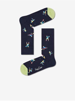 pre mužov Happy Socks - tmavomodrá, svetlozelená
