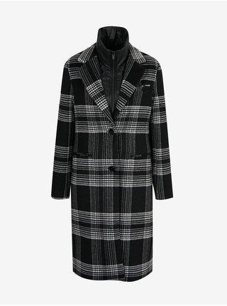 Kabáty pre ženy Desigual - čierna, sivá