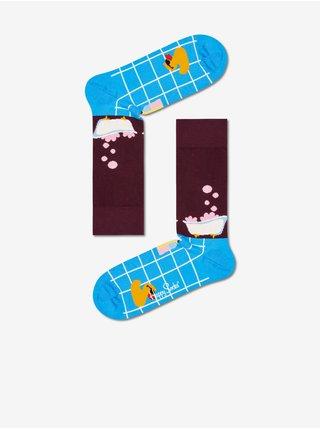 Ponožky pre ženy Happy Socks - modrá, vínová