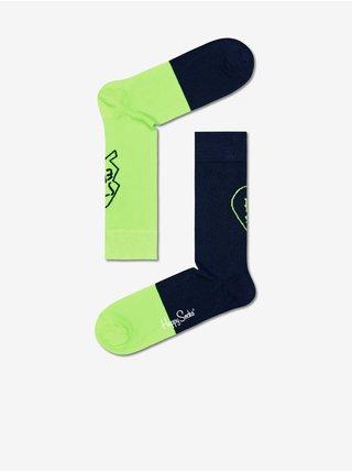 Ponožky pre ženy Happy Socks - modrá, zelená