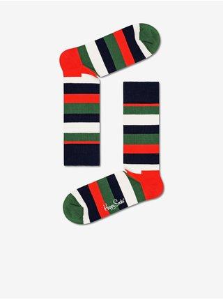 pre mužov Happy Socks - tmavomodrá, zelená, červená, čierna, biela