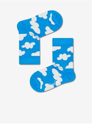 Sada modrých vzorovaných ponožiek Happy Socks