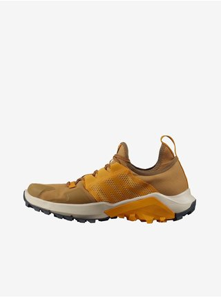 Topánky pre mužov Salomon - hnedá, horčicová