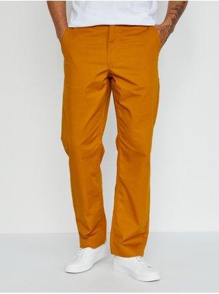 Chino nohavice pre mužov VANS - oranžová