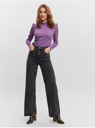 Topy a tričká pre ženy VERO MODA - fialová