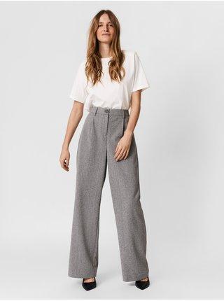 Nohavice pre ženy VERO MODA - sivá