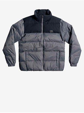 Zimné bundy pre mužov Quiksilver - sivá, čierna